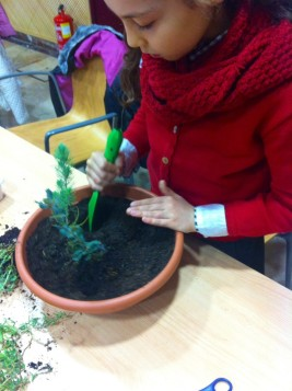 Jardinera en el Museo Cerralbo