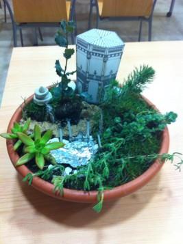 Pequeño jardín del Museo Cerralbo