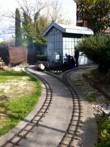 Recorrido Tren de jardín