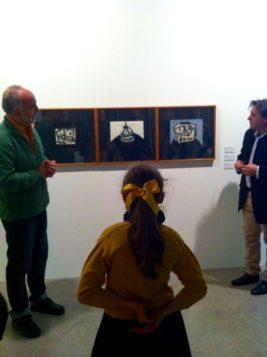 Colección Telefónica, 'Sudario, Caballero y Retrato imaginario' de Antonio Saura.