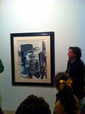 Colección Telefónica, Pablo Picasso. Le peintre au travail, 1964.