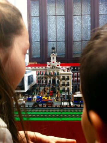 Puerta del Sol en Lego