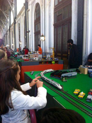 Exposición LEGO en Museo Ferrocarril