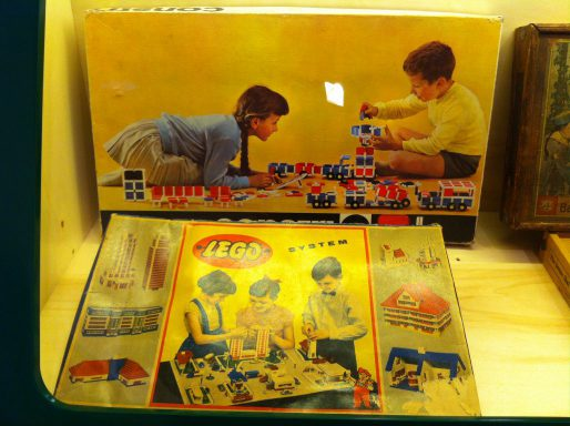 Antiguo juguete LEGO