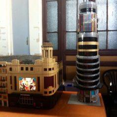 Callao y Edificio Sweppes en Lego