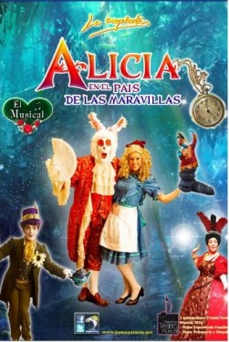 Cartel de Alicia, el musical