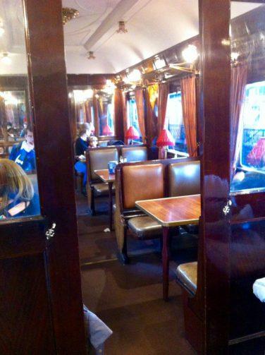 Vagón-restaurante Museo Ferrocarril