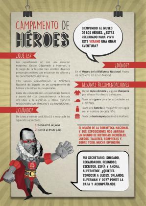 Presentación Campamento héroes BNE