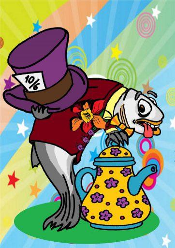 Lucy la mascota de la Maquineta