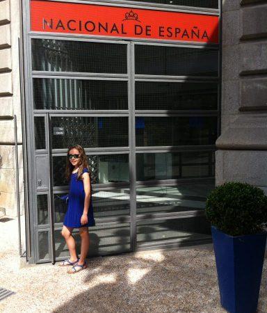Entrada Museo de la Biblioteca Nacional