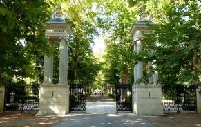 Entrada al Jardín del Príncipe