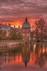 Atardecer Palacio Aranjuez