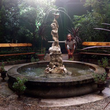 Fuente del Jardín del Museo