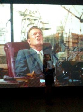 Escena película Hitchcock