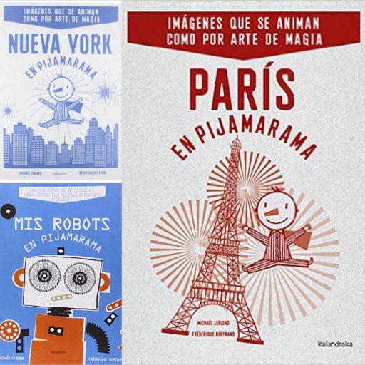 París en Pijamarama, Nueva York en Pijamarama y Robots en Pijamarama