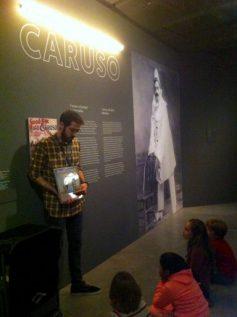 Caruso, primer vinilo