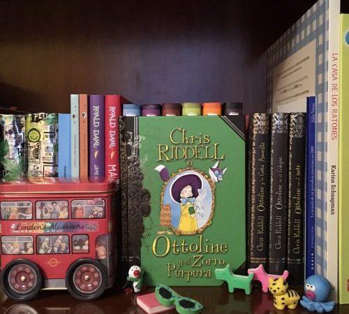 """""""Ottoline y el zorro púrpura"""" Edelvives"""