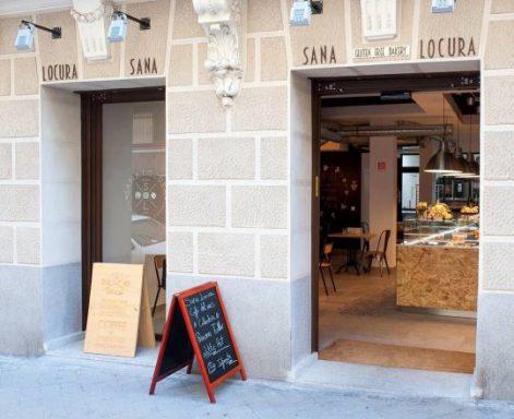 Fachada Sana Locura gluten free bakery