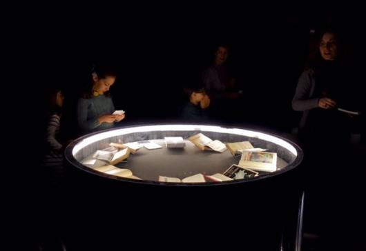 Mesa de espiritismo Expo Houdini