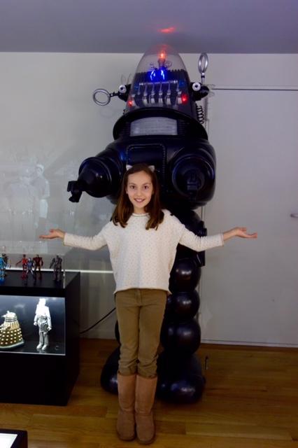 Robot retro