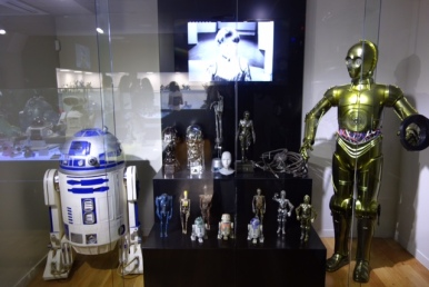 Robots de pelis Star Wars...