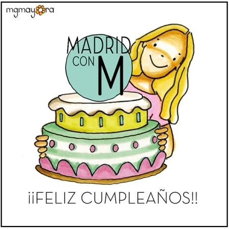 Dibujo de cumpleaños de MadridconM