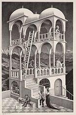 Belvedere© MC ESCHER. 1958