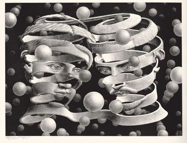Lazo de unión© MC ESCHER. 1956