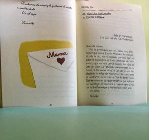 Carta de la madre de Nicolás