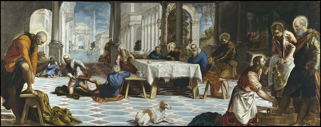 El Lavatorio de Tintoretto