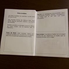 Distintos tipos de tintas invisibles