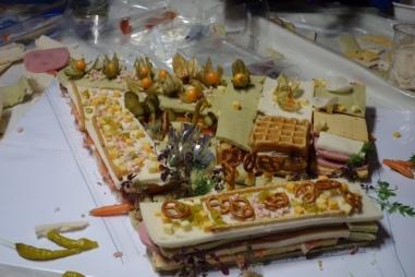 Sede COAM con comidaGastrofestival physalis