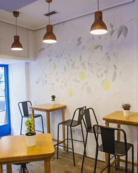 Interior Limone Madrid ristorante