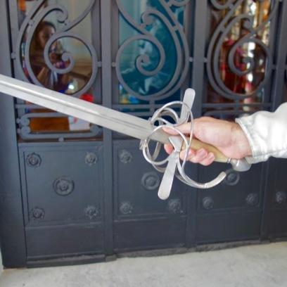 Espada de esgrima tradicional español