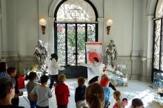 Taller de esgrima en el Museo Lázaro Galdiano