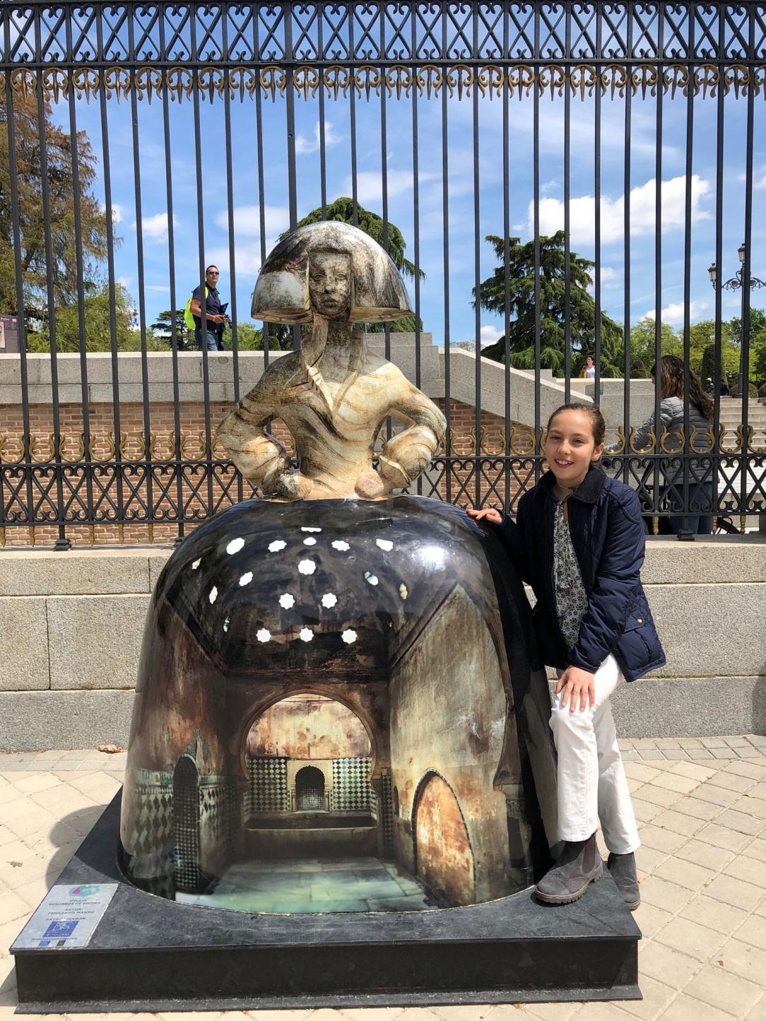 Meninas en Madrid