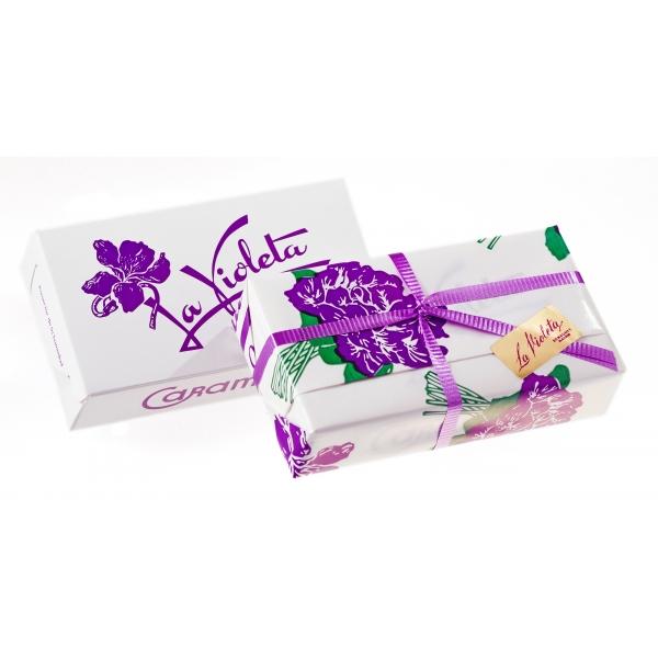 Caramelos de esencia de violeta. La Violeta. Madrid