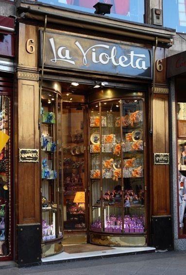 Caramelos La Violeta. Plaza de Canalejas. Madrid