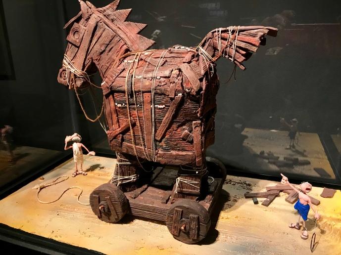 El Caballo de Troya nunca estuvo tan repleto