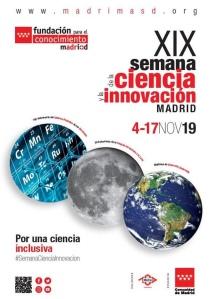 Cartel XIX semana de la Ciencia y la Innovación