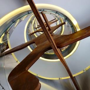Escalera Espacio Fundación Telefónica
