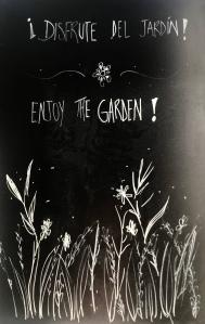 Enjoy the Garden!