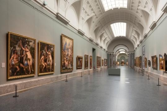 Reencuentro Galería Central. MuseO Nacional del Prado