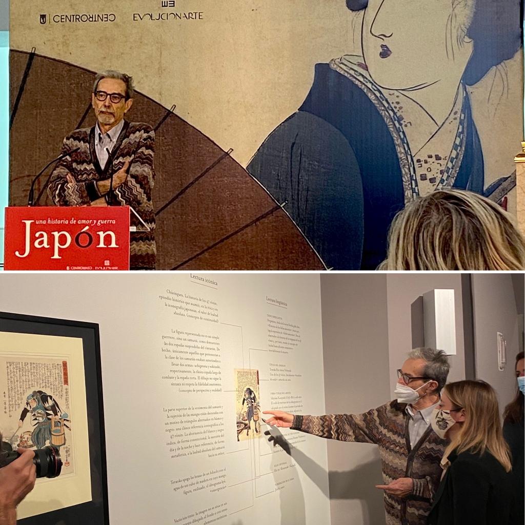 Rueda de prensa e inauguración Pietro Gobbi Japón. Una historia de amor y guerra